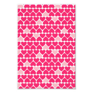 Lovely Pink Hearts Photo