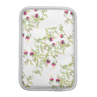 Lovely Pink Roses Floral iPad Mini Vertical iPad Mini Sleeve