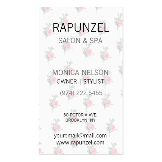 Lovely Pink Roses Pack Of Standard Business Cards