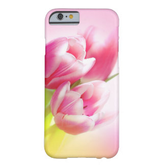 Lovely pink tulips barely there iPhone 6 case