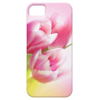 Lovely pink tulips iPhone 5 case