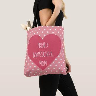 Lovely Proud Homeschool Mom Tote Bag