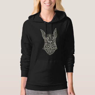 Lovely Pullover with Great Dane Sugar Skull Design