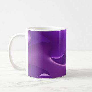 lovely purple coffee mug