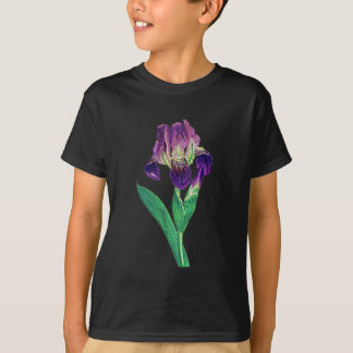 Lovely Purple Dutch Iris T-Shirt