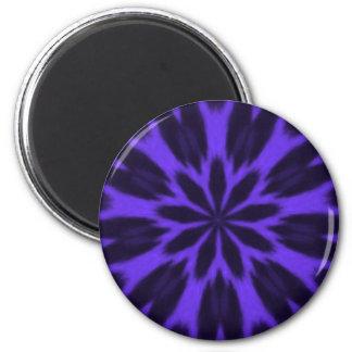 Lovely Purple Spotted Leopard Kaleidoscope Fridge Magnet