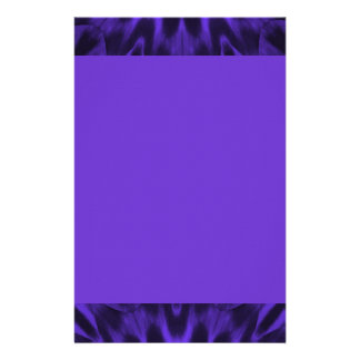 Lovely Purple Spotted Leopard Personalised Stationery
