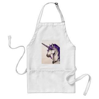 Lovely purple unicorn aprons
