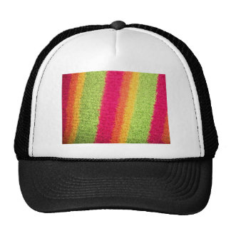 LOVELY RAINBOW STRIPES TRUCKER HAT