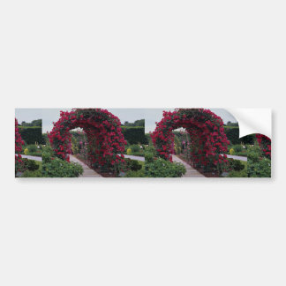 Lovely Red Rose Arches Bumper Sticker