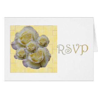 Lovely Rose RSVP Card