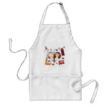 Lovely Royal Couple Standard Apron