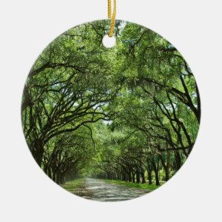 Lovely Savannah Georgia Christmas Ornament