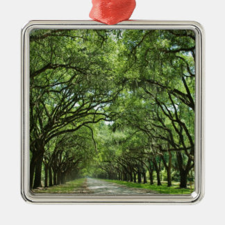 Lovely Savannah Georgia Christmas Ornament