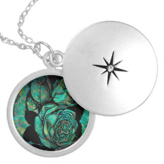 Lovely Serenity Round Locket Necklace