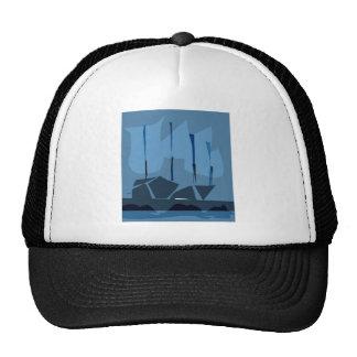 *LOVELY SHIPS BY ALBRUNO* TRUCKER HATS