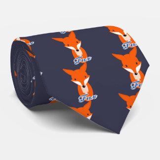 lovely simple retro fox tie