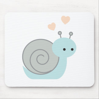 Lovely Snail Mouse Pad