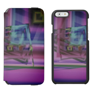 Lovely soft Edgy Design Pattern Incipio Watson™ iPhone 6 Wallet Case