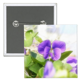 Lovely Spring Violet Button
