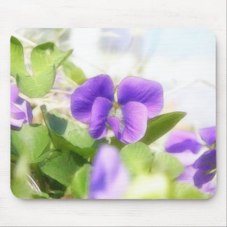 Lovely Spring Violet Mouse Pad