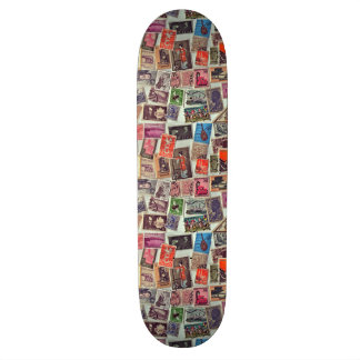 Lovely Stamps Skateboard