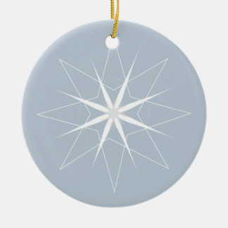 Lovely Star Holiday Ornament