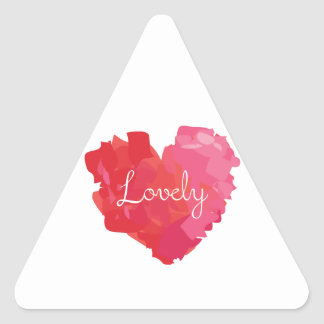 Lovely Triangle Sticker
