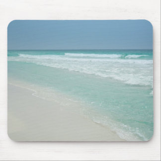 Lovely Summer Day at the Beach Mouse Mat