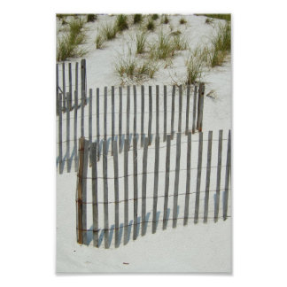 Lovely Summer Day at the Beach Poster