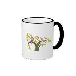 lovely summer tree vector coffee mug