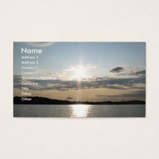 Lovely Sunset Business Card