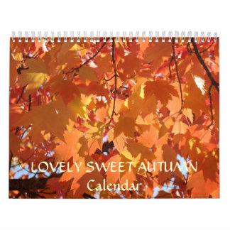 LOVELY SWEET AUTUMN Calendar Holiday Gifts Grandma