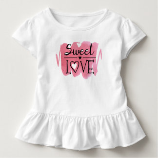 Lovely Sweet Love Valentine's Day | Ruffle Tee