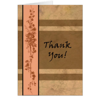 Lovely Thank You Card by Molly Harrison