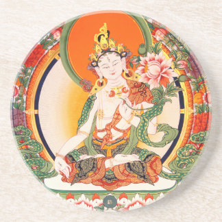 Lovely Tibetan Buddhist Art Coaster