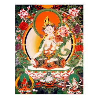 Lovely Tibetan Buddhist Art Postcard