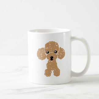 Lovely toy poodle coffee mug