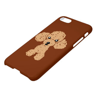 Lovely toy poodle iPhone 8/7 case