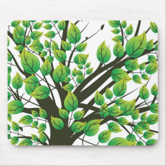 Lovely tree mouse mat