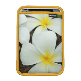 Lovely Tropical Blossoms In The South Pacific iPad Mini Sleeve