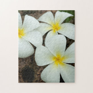 Lovely Tropical Blossoms In The South Pacific Jigsaw Puzzle