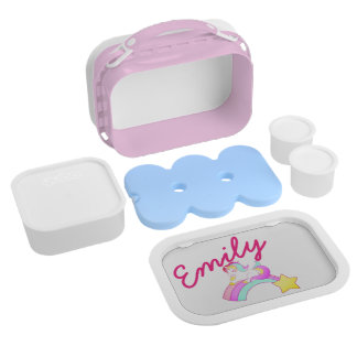 Lovely Unicorn, Personalisable Lunch Box