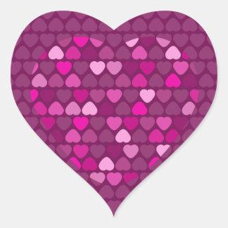 Lovely Valentine Heart Stickers