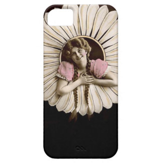 Lovely Vintage Flower Women iPhone 5 Cover