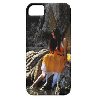 Lovely Water Fairy in Orange iPhone 5 Case