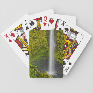 Lovely Waterfalls And Cascades Abound Playing Cards