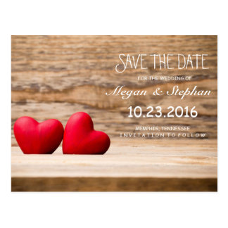 Lovely Wedding Save The Date Postcard