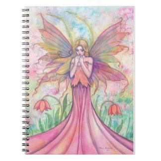 Lovely Wildflower Fairy Notebook