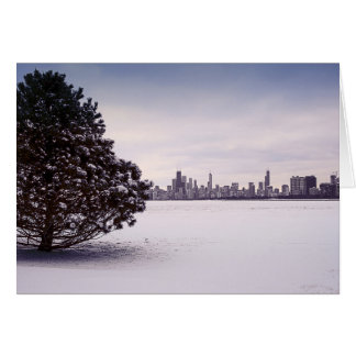 lovely winter Chicago - greeting cards